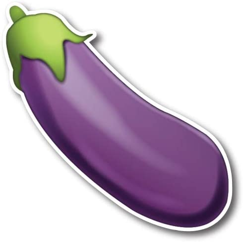 Eggplant Emoji Magnet