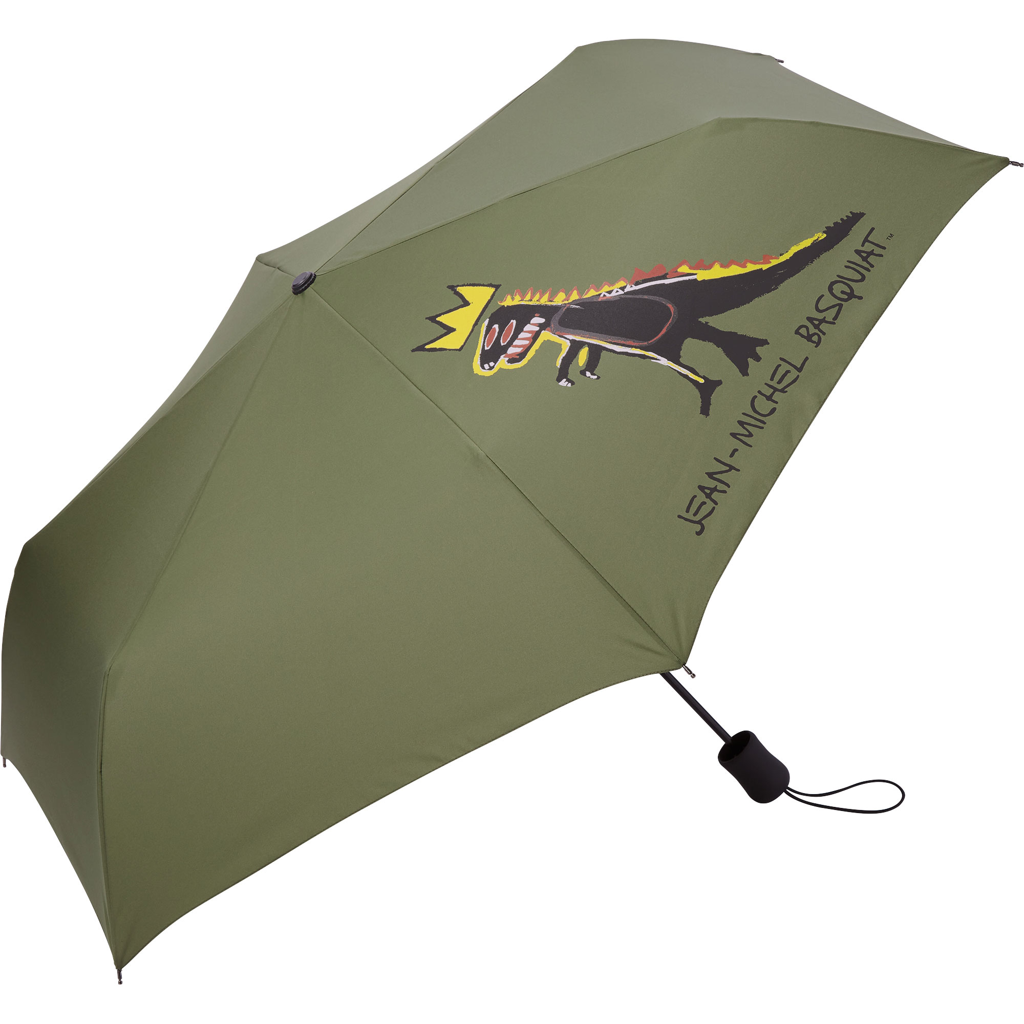 Jean-Michel Basquiat UV Protection Compact Umbrella
