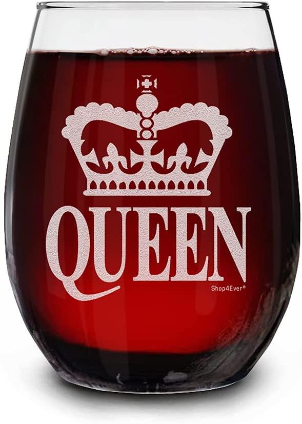 Queen Wine Glass