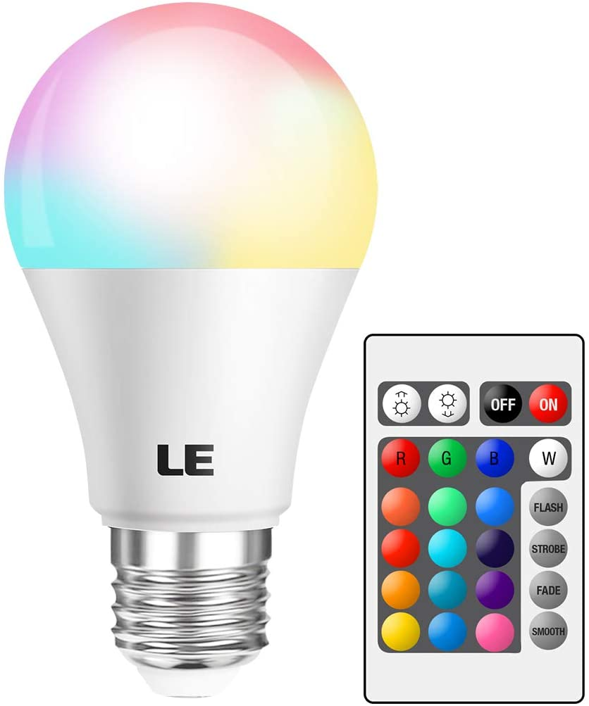 LE RGB Color Changing Light Bulbs
