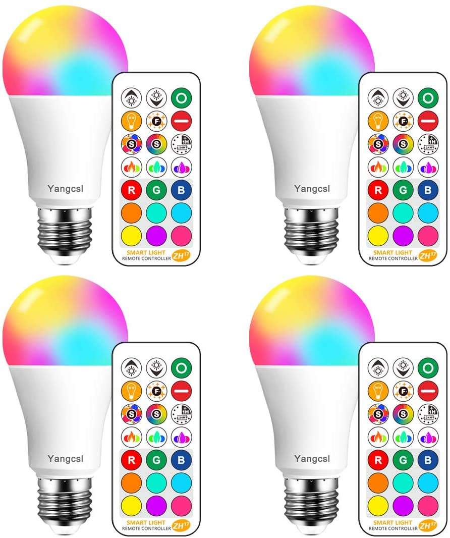 Yangcsl LED Light Bulbs