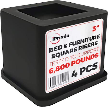 iPrimio Bed and Furniture Square Risers