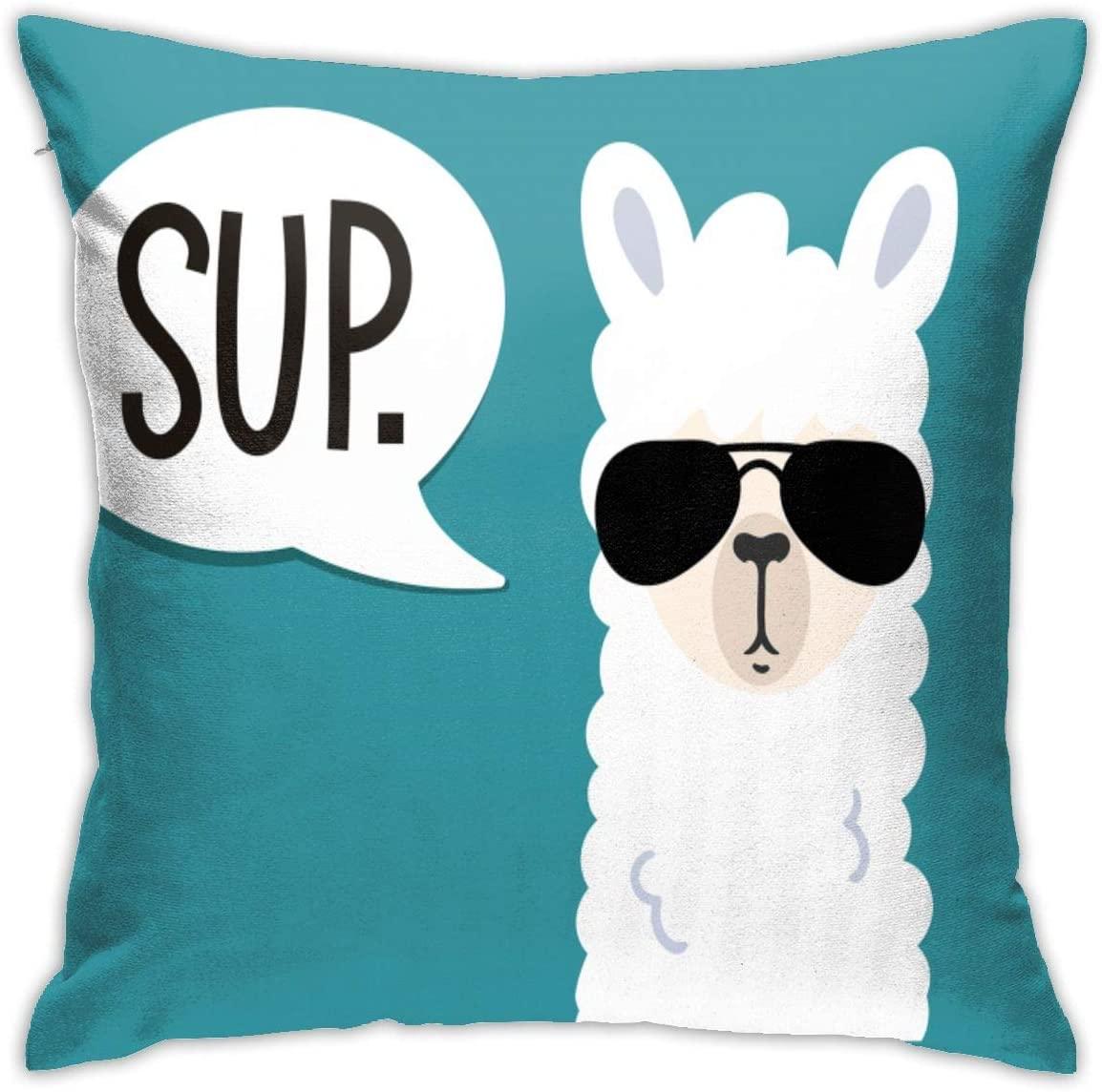 Funny Llama Pillow