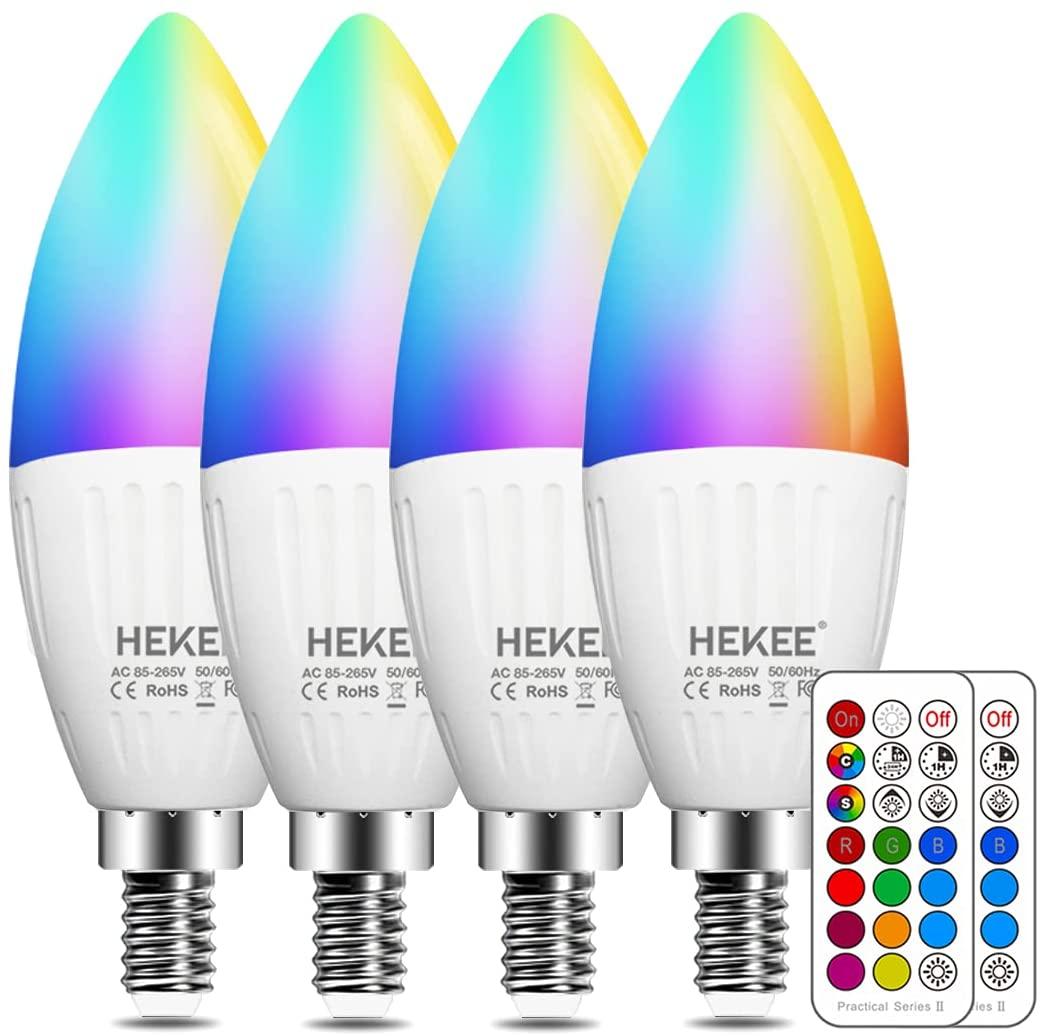 E12 LED Candle Light Bulbs