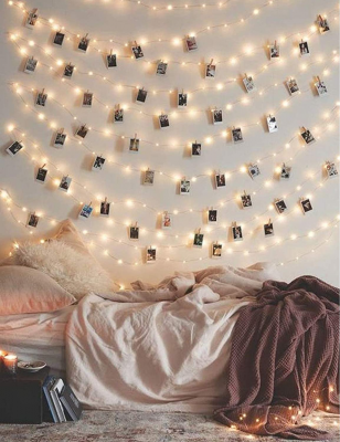 photo clip string lights, best Christmas gifts for teen girls