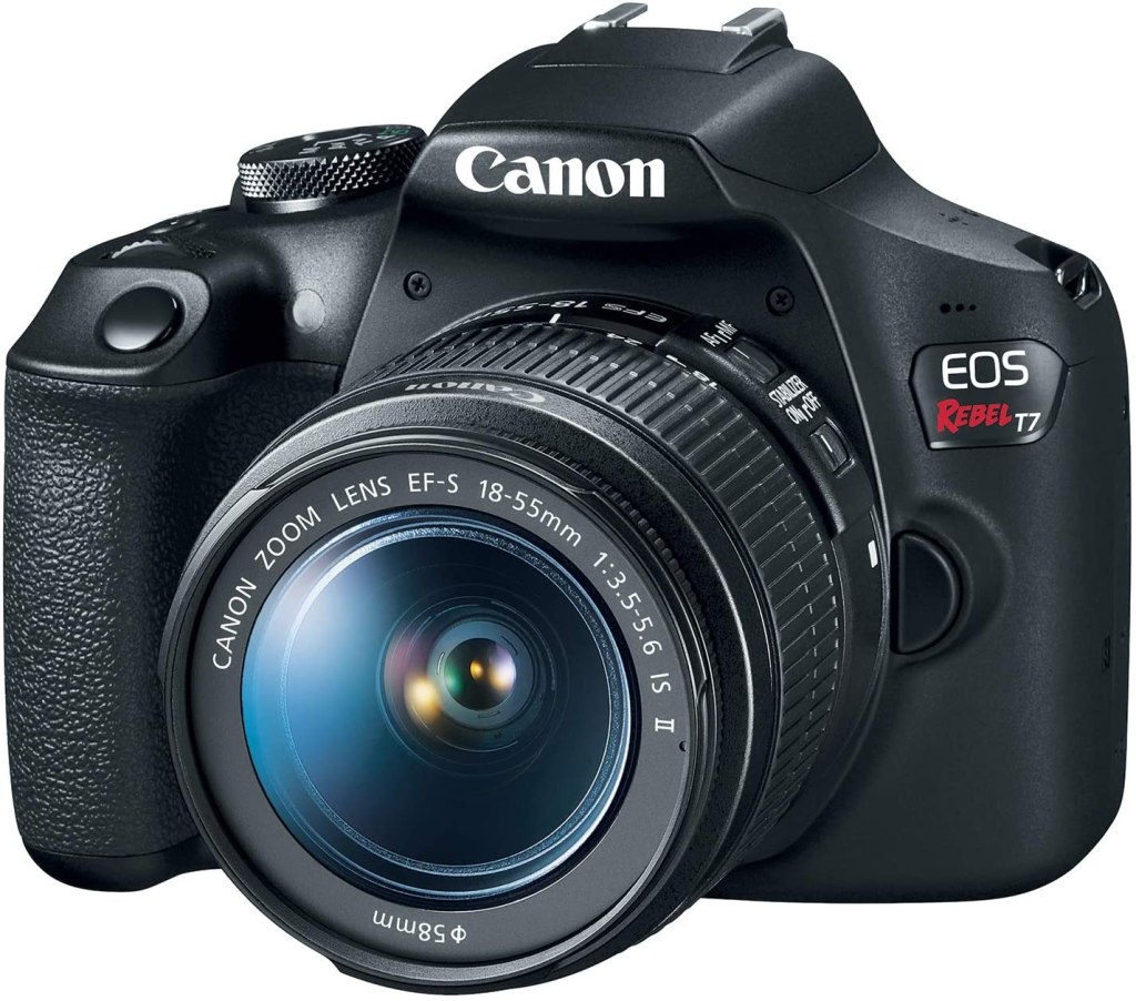 Canon EOS Rebel T7 - Best Travel Camera