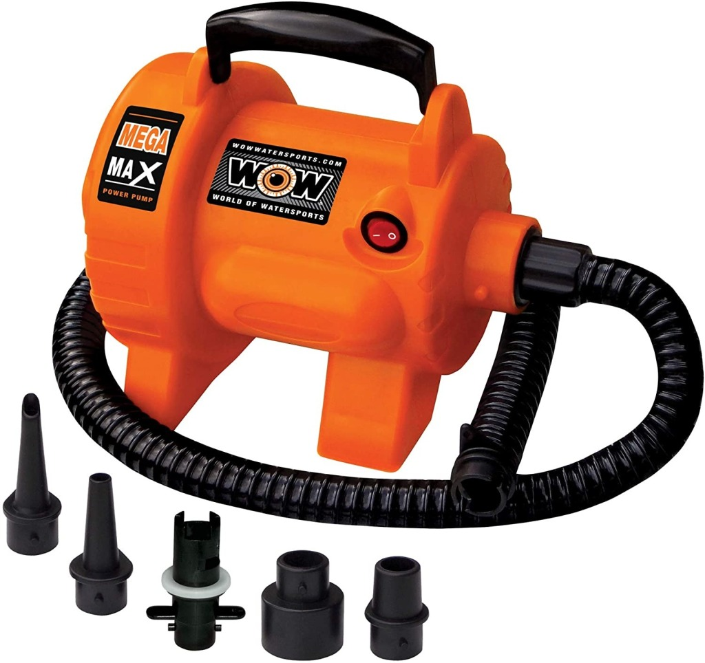 WOW World of Watersports Air Pumps for Inflatables, best towable tubes