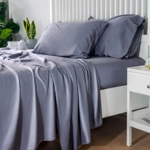 Bedsure 100% Bamboo Sheets Set, how to cool your home without AC