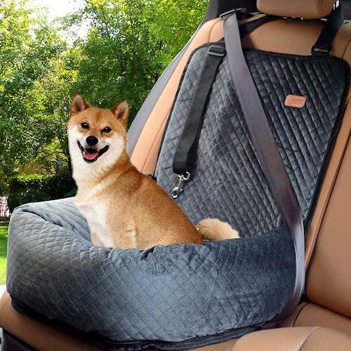 BOCHAO Dog Car Booster Seat