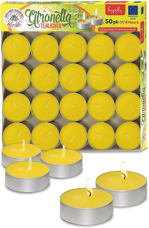 Tealight Citronella Candles