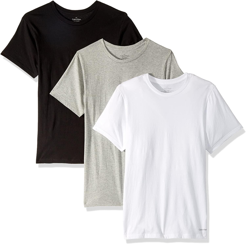 Calvin Klein Cotton Stretch Multipack Crew Neck T-Shirts