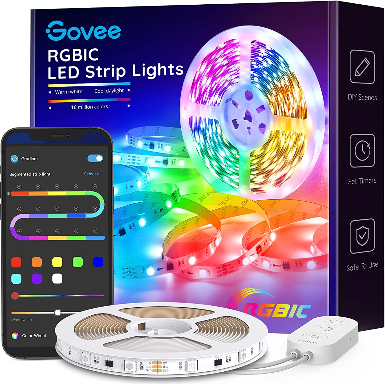 Govee LED Strip Lights RGBIC