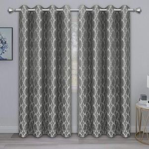 PureFit Jacquard Blackout Curtains, how to cool your home without AC
