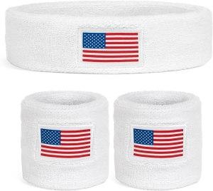 Suddora Country headband & wristbands set, olympics 2021 gear