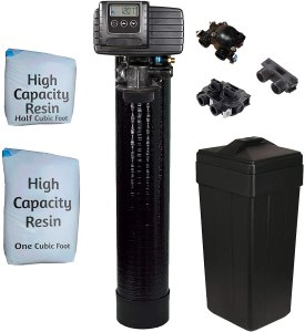 afwfilters metered on demand water softener