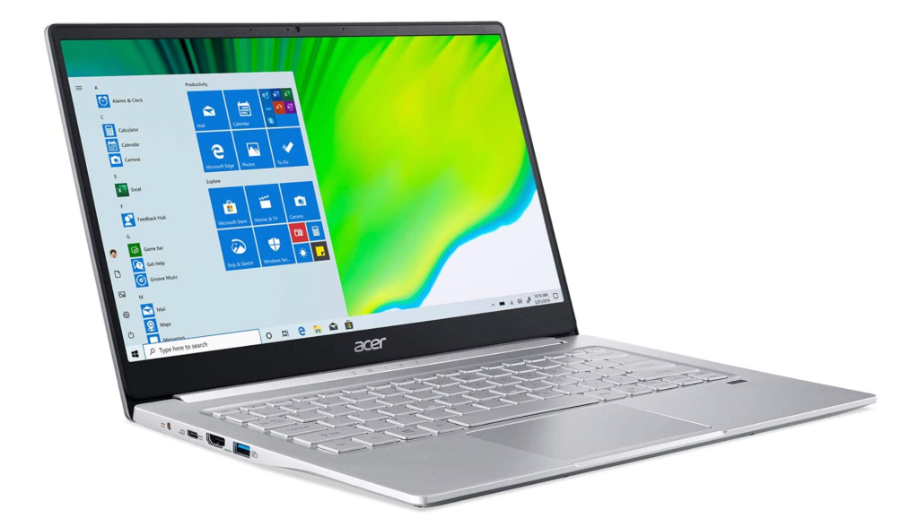 Acer Swift 3 laptop for photo editing