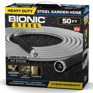 as seen on tv bionic steel garden hose