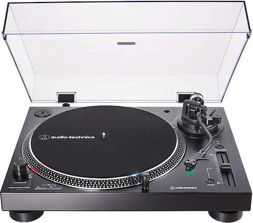 Audio-Technica AT-LP120XUSB-BK Direct-Drive Turntable (Analog & USB)