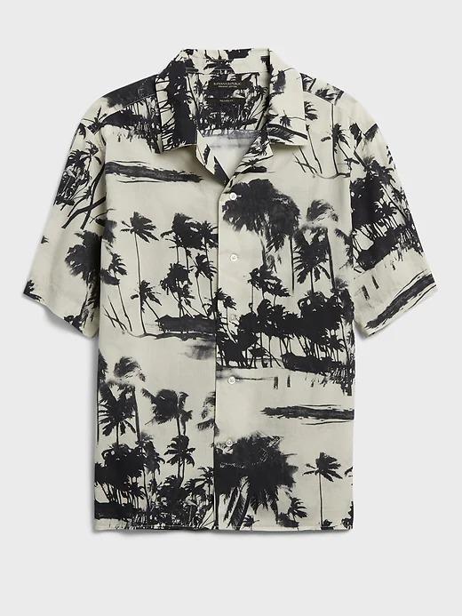 Banana Republic Organic Resort Shirt