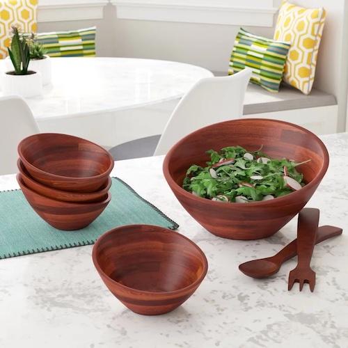 George Oliver Billie-Jo Salad Bowl, Set of 7