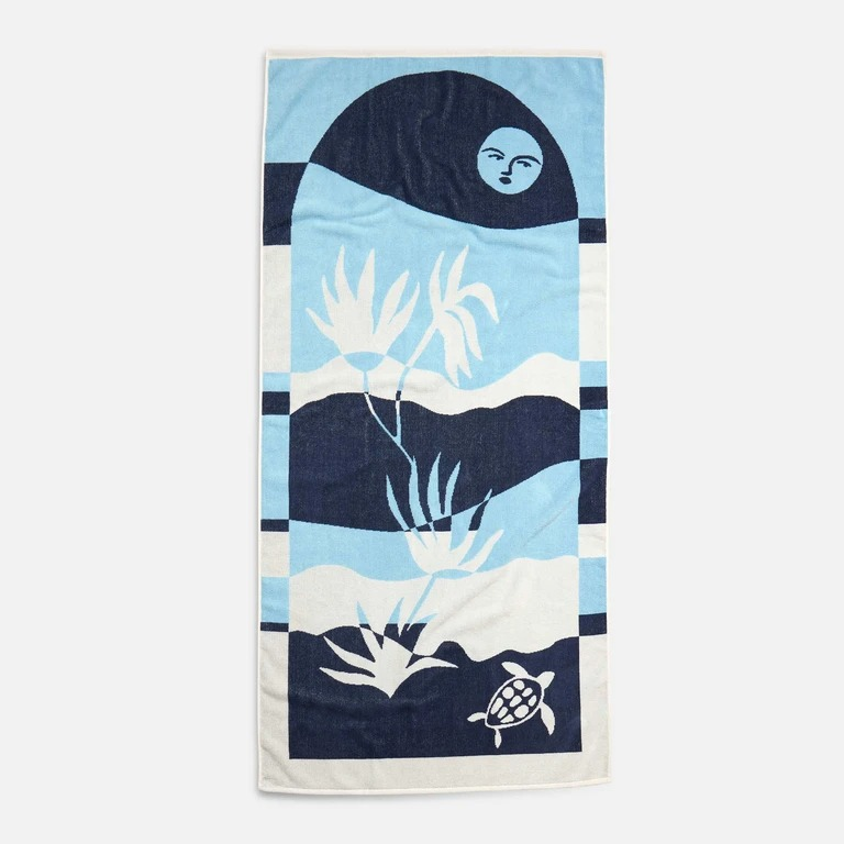 Scenic Beach Towel by Brooklinen