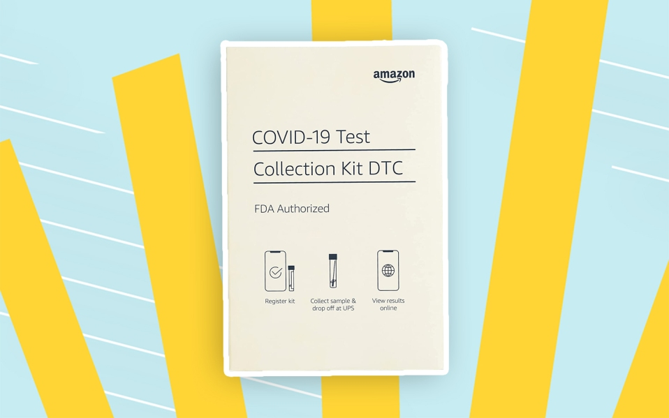 Amazon COVID-19 test kit