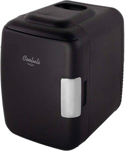 cooluli skincare mini fridge