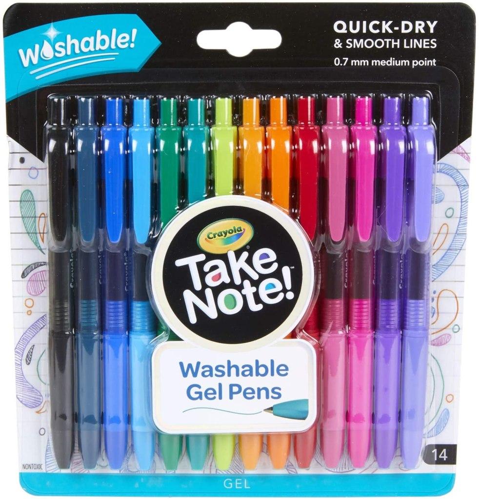Crayola Colored Gel Pens
