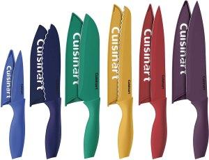 cuisinart color-coated knife set, kitchen gadgets under $50