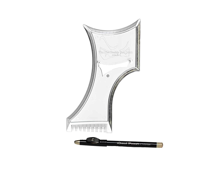 Cut Buddy Plus Beard Shaping Tool with lineup pencil