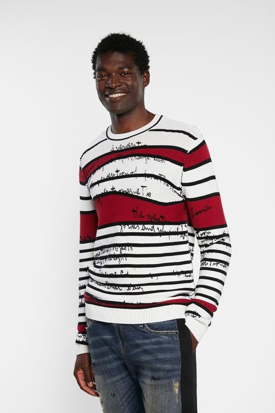 Desigual-Knit-Jumper-Striped