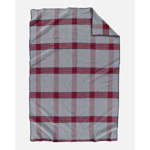 eco wise wool plaidstripe blanket