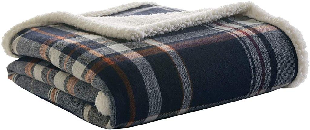 eddie bauer home flannel blanket