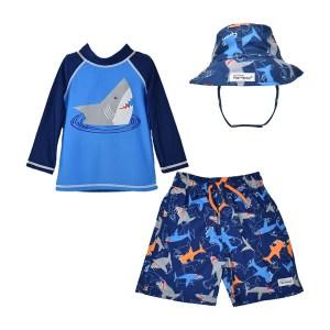Flap Happy Boys Swim and Hat Set