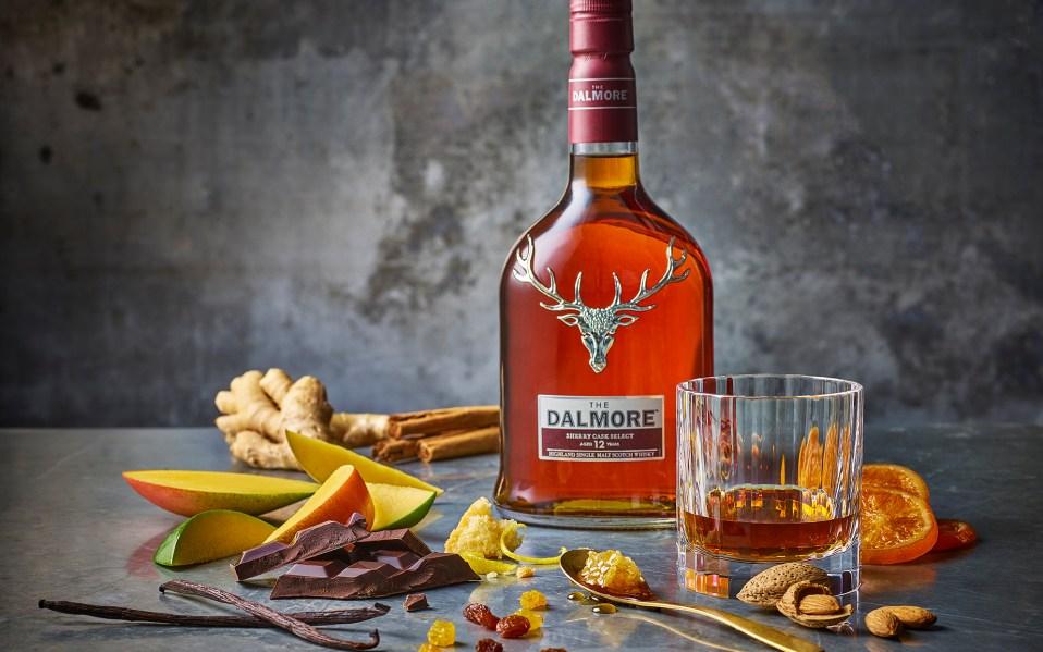The Dalmore bottle lifestyle image