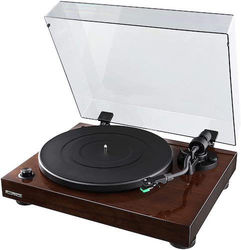 Fluance RT81 Elite High Fidelity Vinyl Turntable Record Player with Audio Technica AT95E Cartridge, best record player