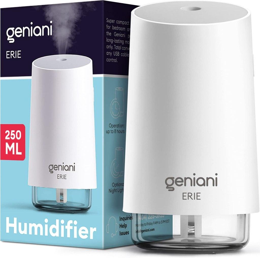 GENIANI Portable Small Cool Mist Humidifiers