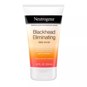 Neutrogena Exfoliating Blackhead Salicylic Acid Face Scrub, Best blackhead remover tools