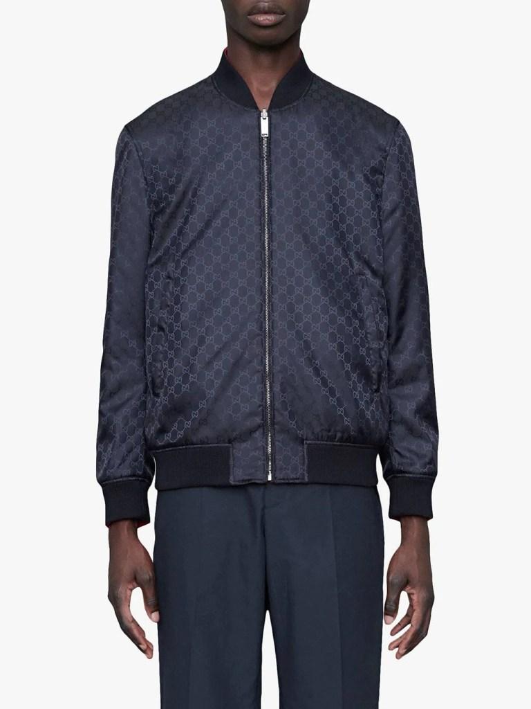 Gucci-GG-Pattern-Reversible-Bomber-Jacket