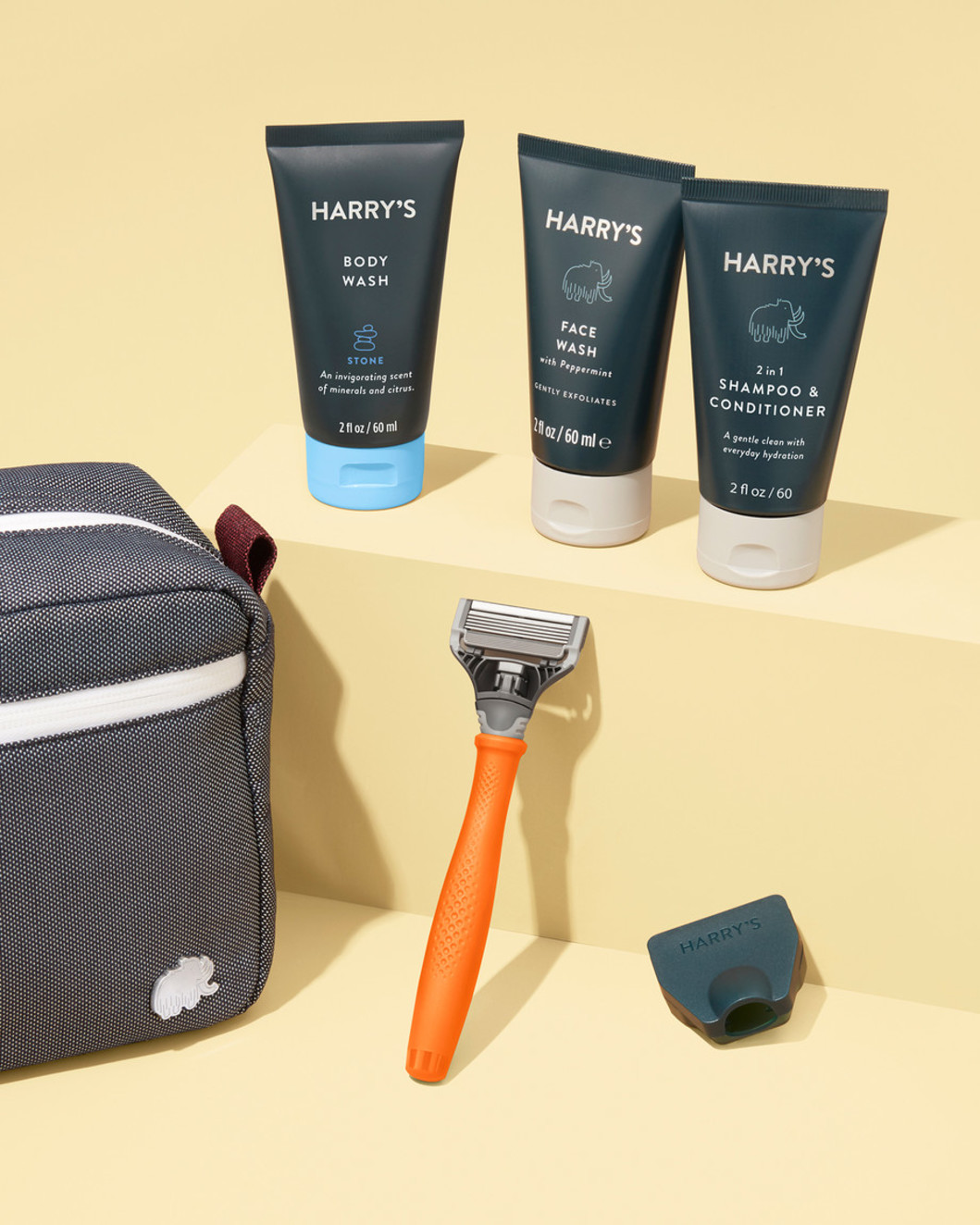 Harry's Shave and Shower Travel Kit