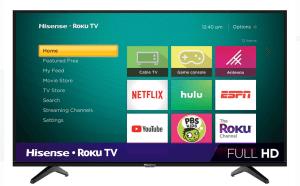 Hisense 40-inch Class FHD Roku TV