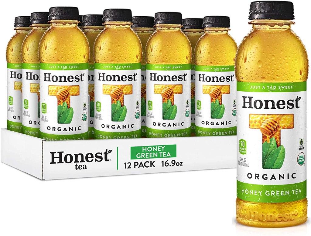 Honest Tea Organic Fair Trade Honey Green