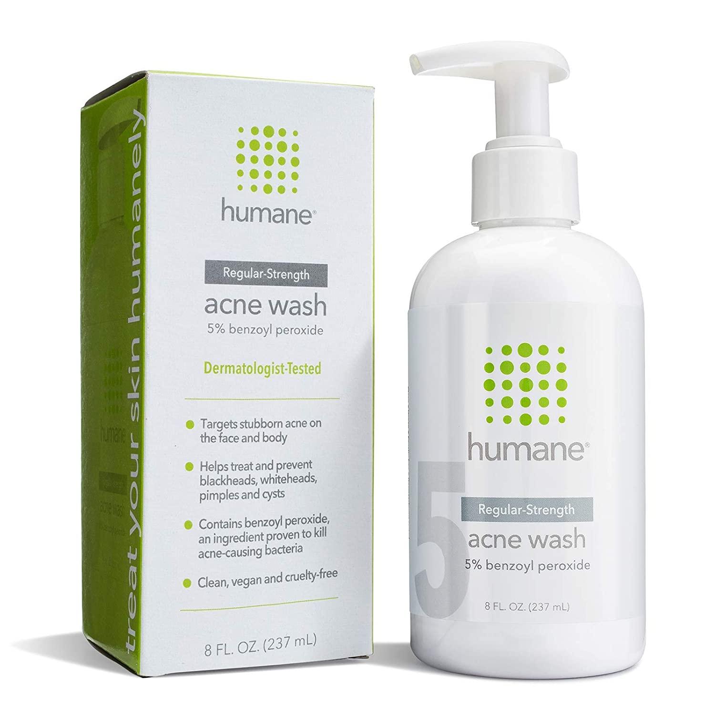 Humane Regular Strength Acne Wash