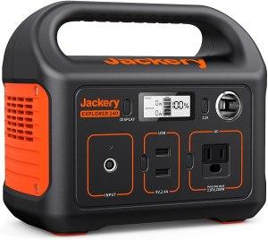Jackery portable power station, best emergency supplies