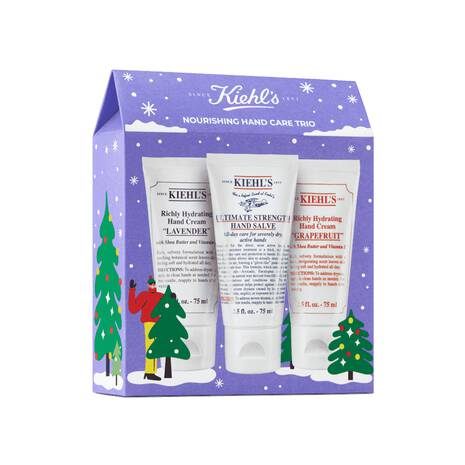 Kiehl's Nourishing Hand Cream Gift Set Trio; skincare sets for men