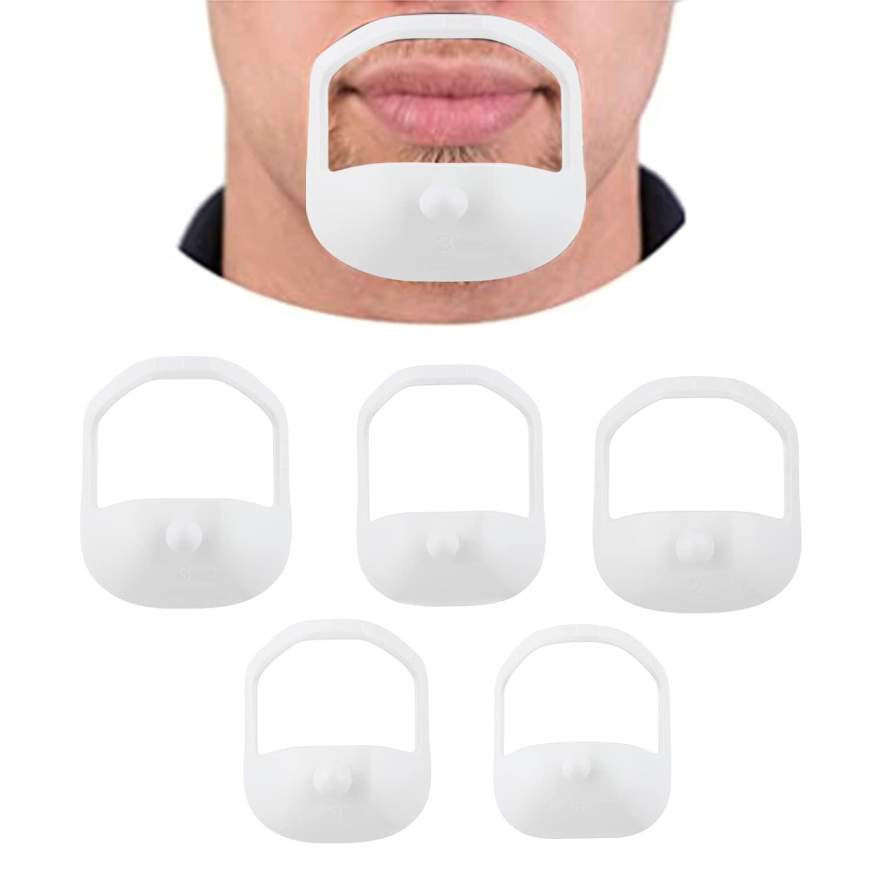 Kuuans 5 sizes of goatee shaving template