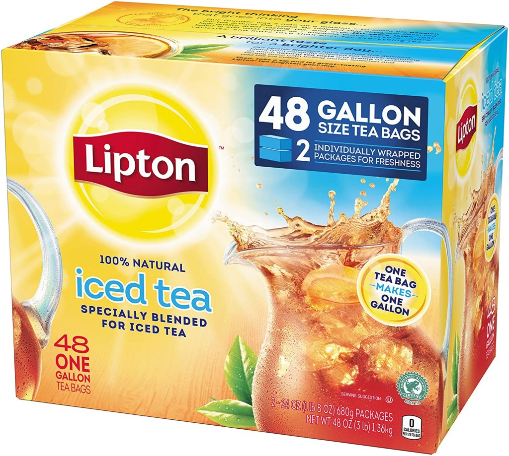Lipton Gallon-Sized Black Iced Tea Bags