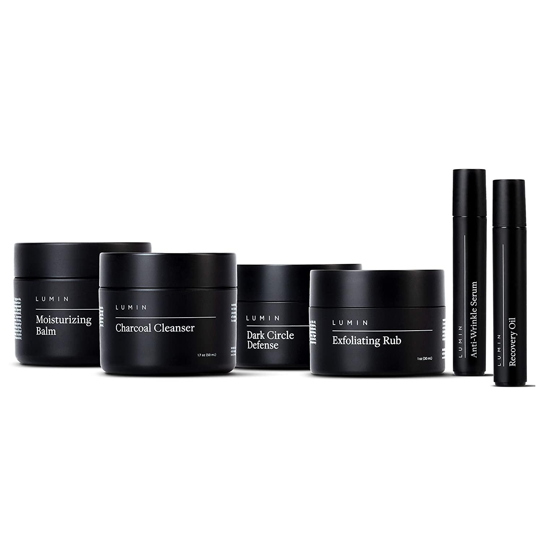 Lumin The Complete Skincare Gift Set for Men; best skincare sets for men / skincare gift sets