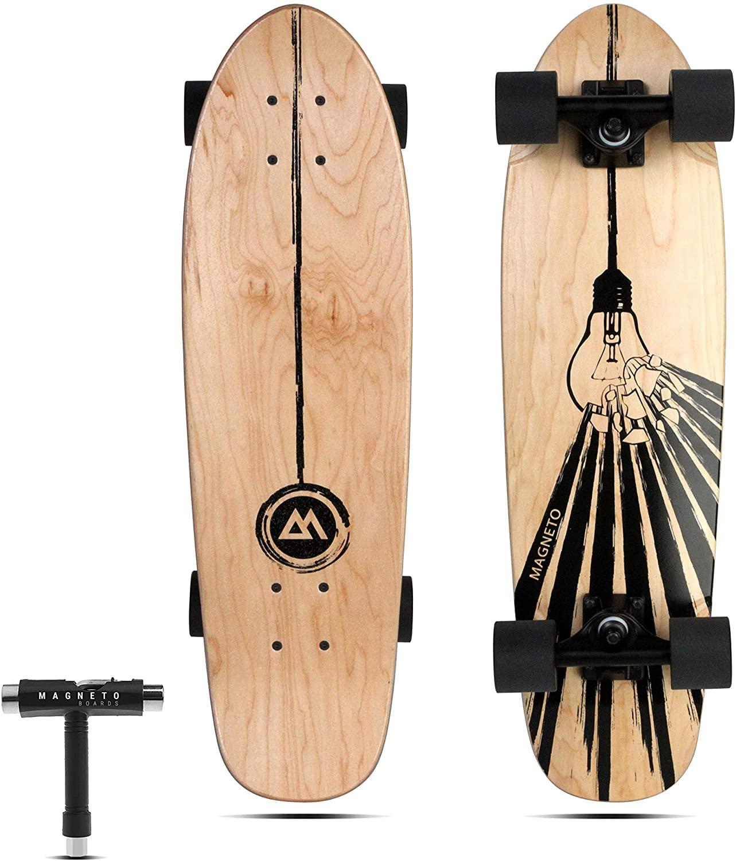 Magneto Mini Cruiser Skateboard; best skateboard for beginners