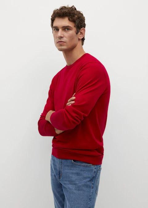 Mango-100-Merino-Wool-Washable-Sweater